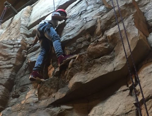 On May 23rd students and staff climbed to new heights at BSA Base Camp.
