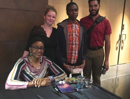 Meeting Author Nnedi Okorafor